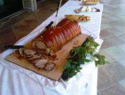 una porchetta di maiale da realizzare anche a casa