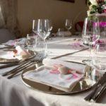 catering per matrimonio mise en place