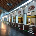 temporary restaurant hamburgeria presso il meeting di rimini