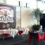 temporary restaurant graticula presso il meeting di rimini